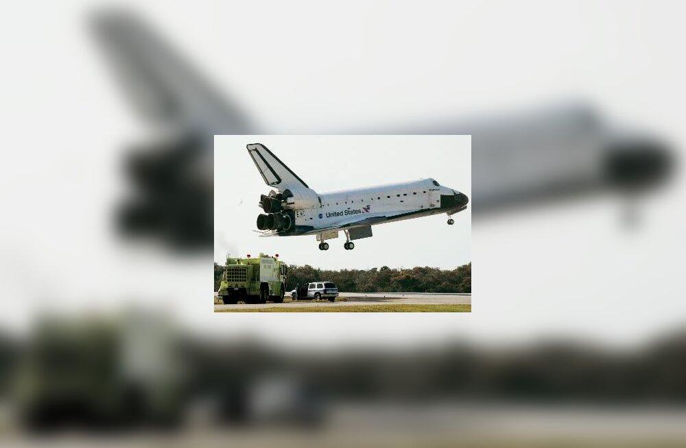 USA kosmosesüstik Endeavour