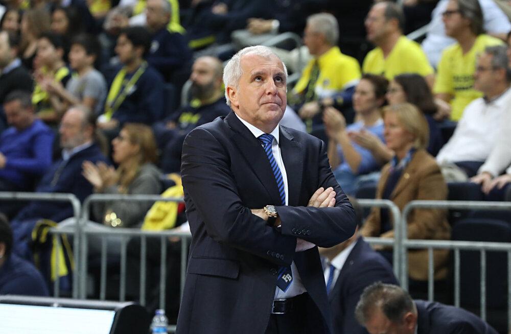 Fenerbahce toetab Obradovici: ta võib meiega jätkata nii kaua, kui ise tahab