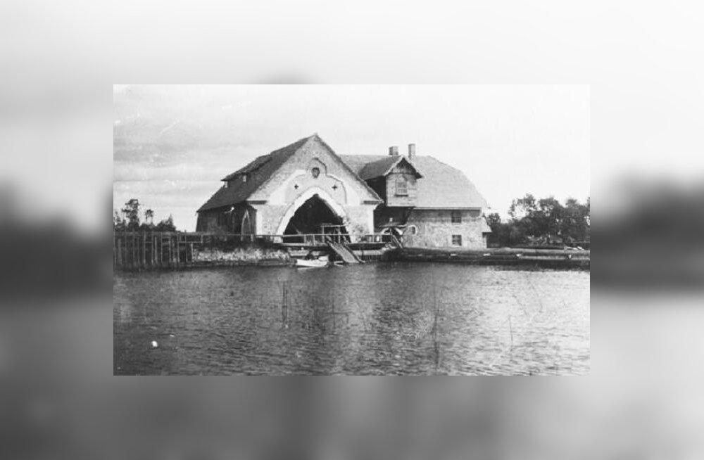 Rutikvere vesiveski 20.sajandi esimesel kümnendil.