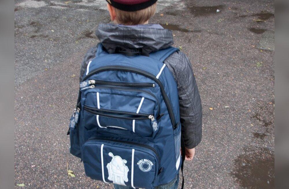 3e8b8caddcd Eksperiment: Kolmanda klassi laste koolikotid on lubatust pea poole raskemad