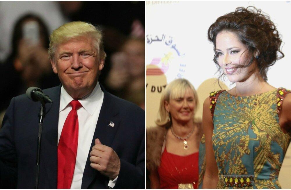 Donald Trump, Ana Ivanovic
