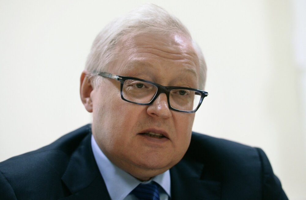 Venemaa asevälisminister Rjabkov: me peame läänt vastaseks
