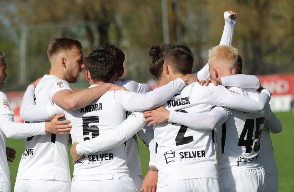 10 vooru mängitud: FC Flora jätkab endiselt täiseduga