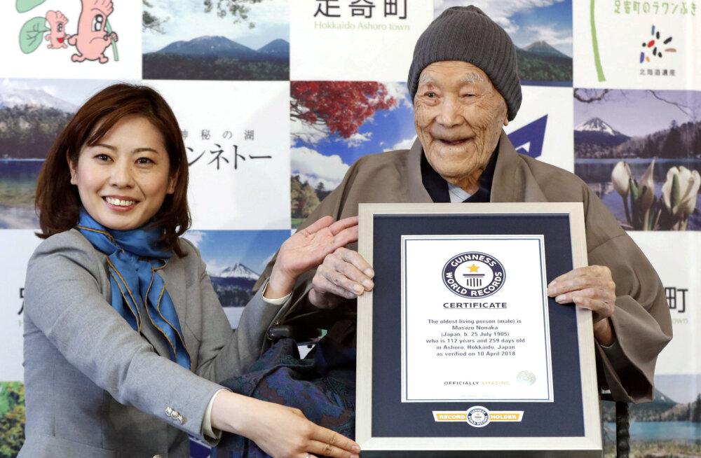 Jaapani saarel lahkus maailma vanim mees