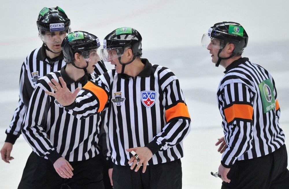 KHLi kohtunikud