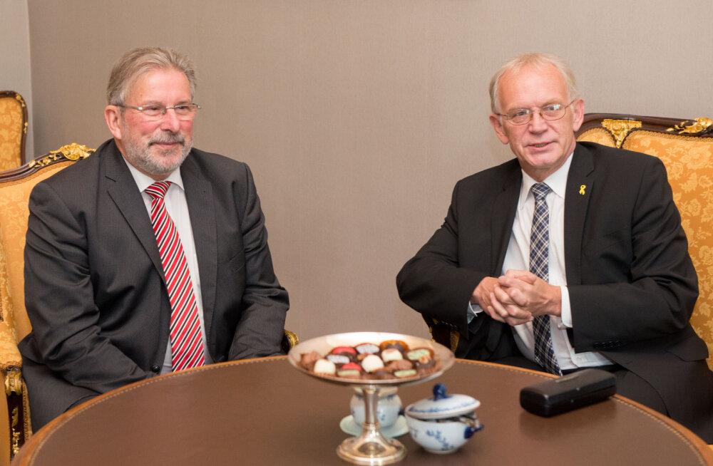 Нестор и спикер парламента Люксембурга обсудили связанные с беженцами вопросы и Закон о петициях