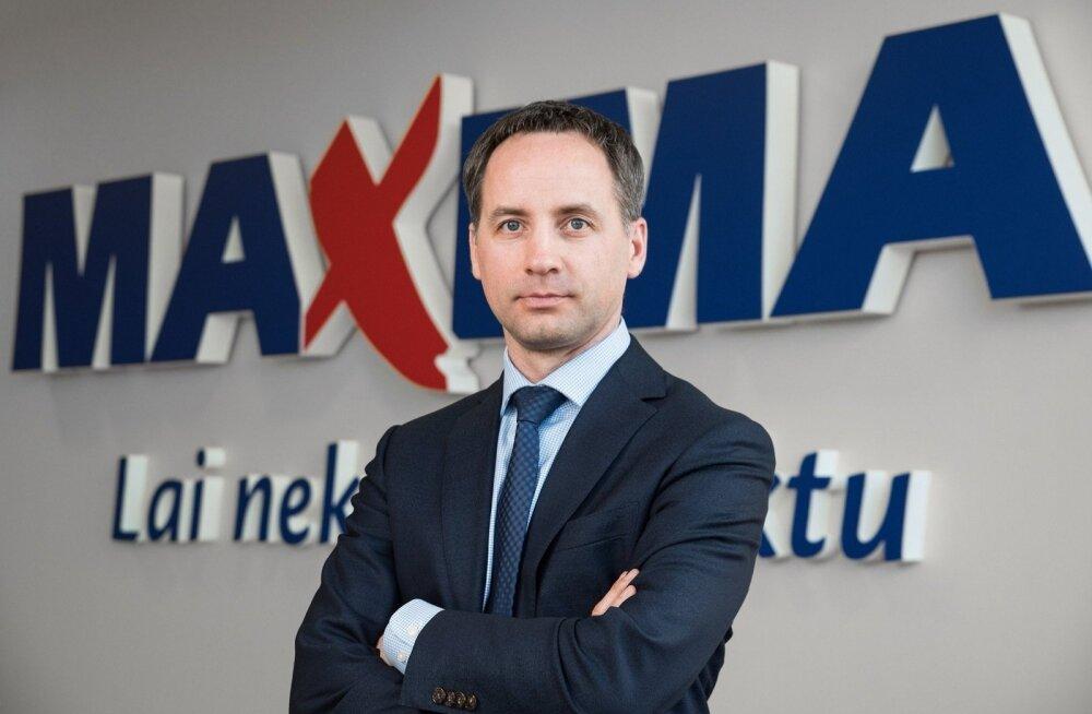 Maxima Latvija juht Andris Vilcmeiers