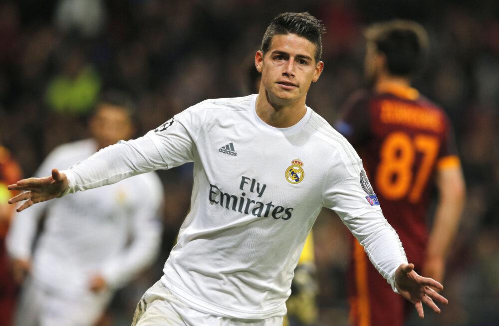 Madridi Real vahetab James Rodriguezi Eden Hazardi vastu?