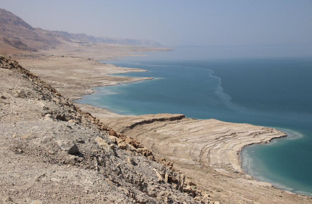 Есть ли жизнь в Мертвом море?
