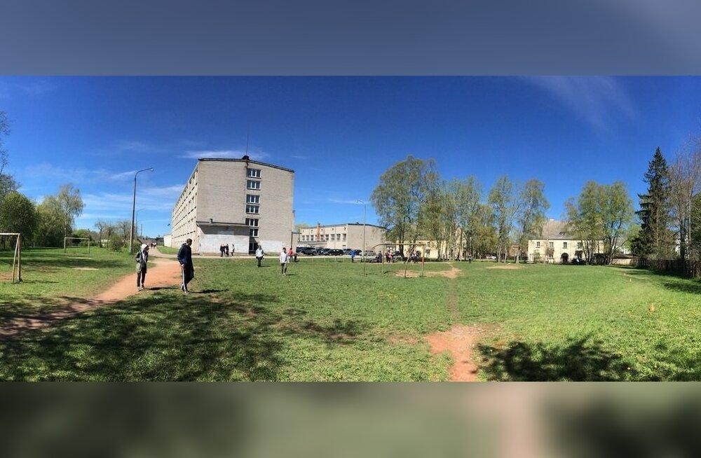 Силламяэ хочет обновить здание Ваналиннаской школы. Объявлен архитектурный конкурс
