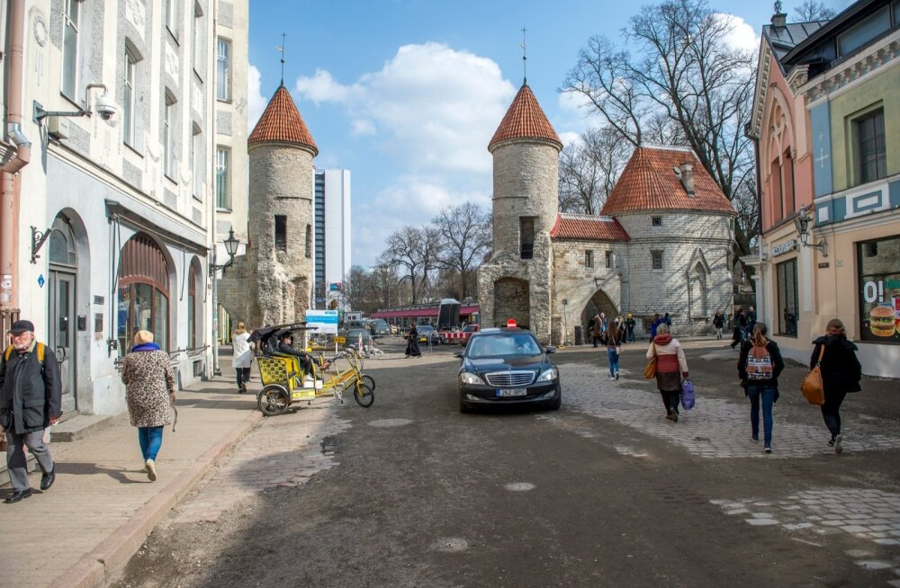 Remont Tallinna vanalinnas