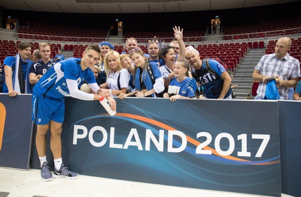 Võrkpalli EM Eesti-Soome