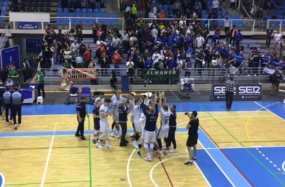 BLOGI HISPAANIAST | Ajalooline võit! Saaremaa pani Hispaania tippklubi kotti, jõudis veerandfinaali ja teenis pisut kommiraha