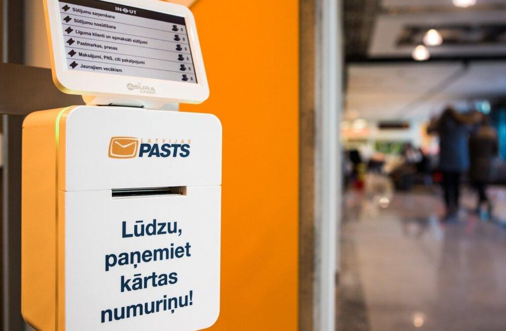 LÄti postifirma Latvijas pasts