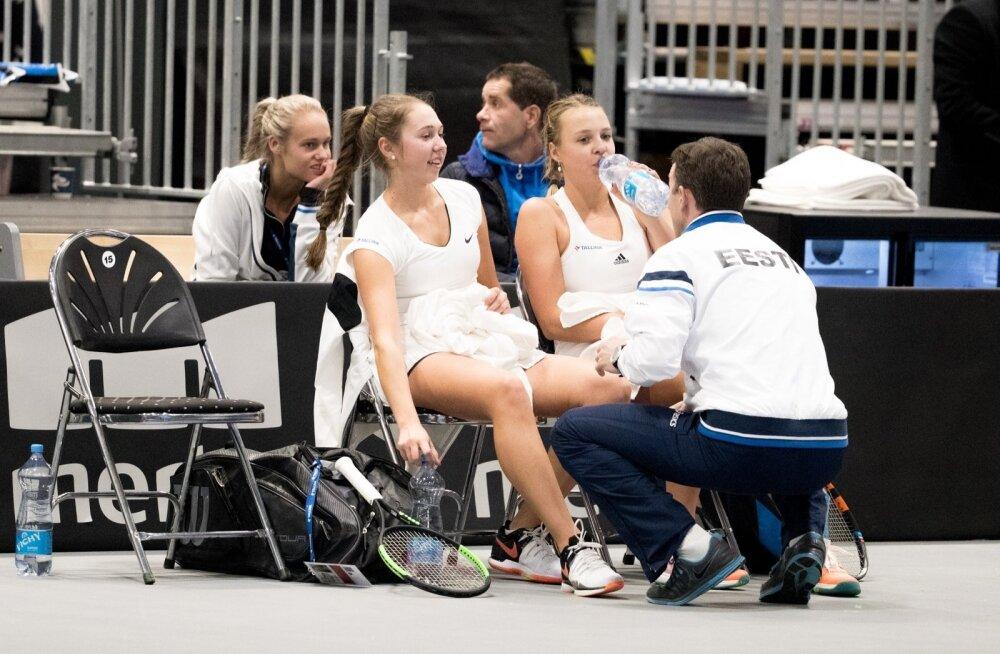 Tennis Fed Cup, Eesti vs Israel