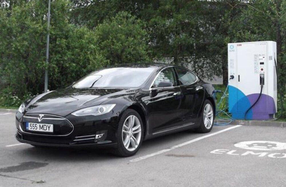 Elektriautod koguvad Eestis aina populaarsust
