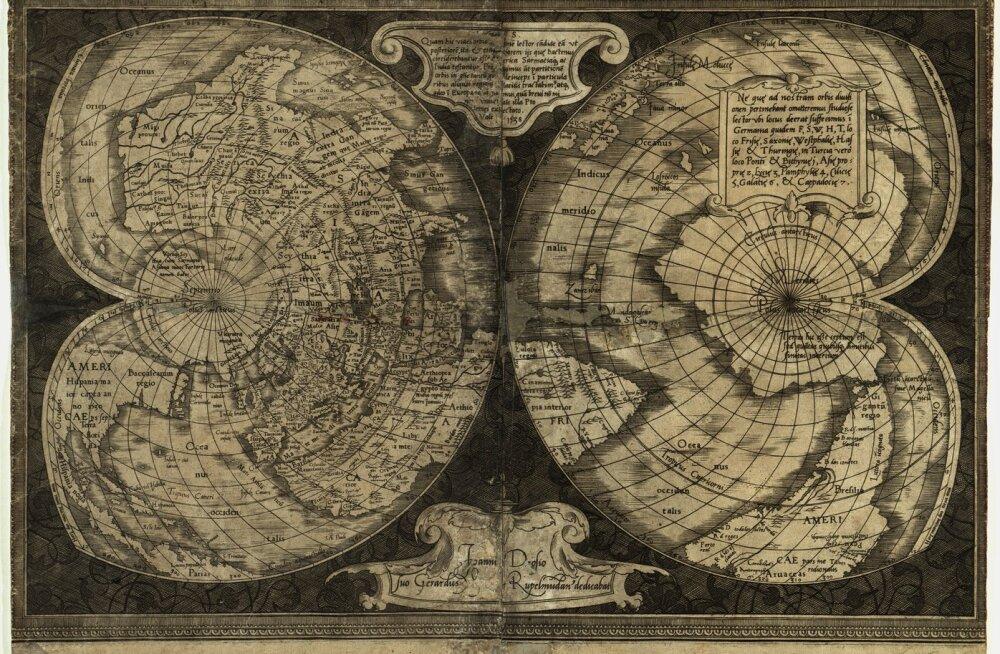Kartograaf tegi Maa lamedaks – jälle!
