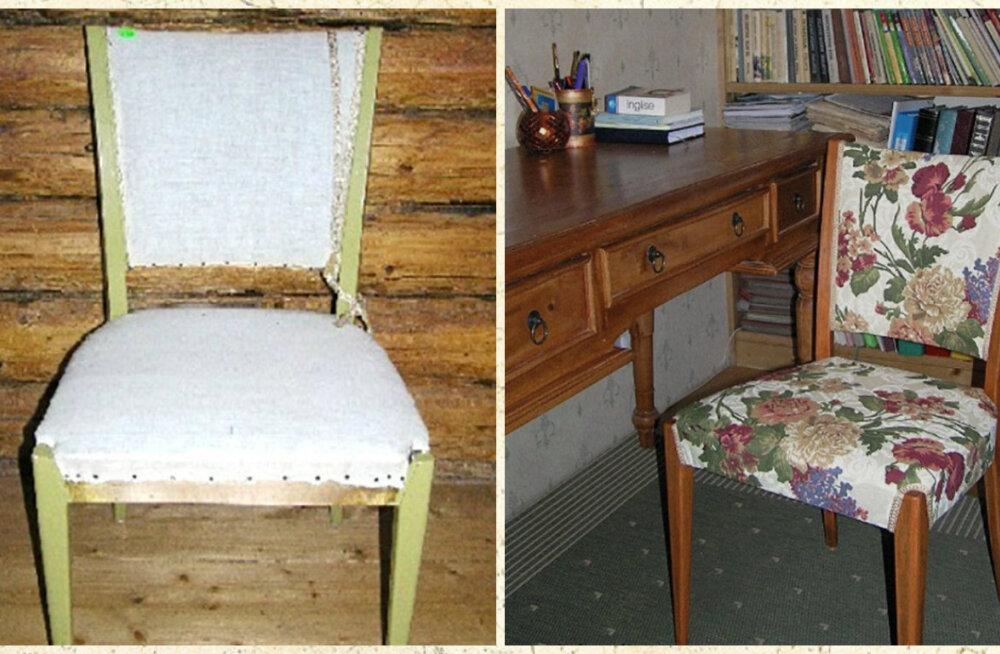 d6762619ec1 Vana ja kordategemist vääriva tooli võib leida sealt, kust aimatagi ei oska