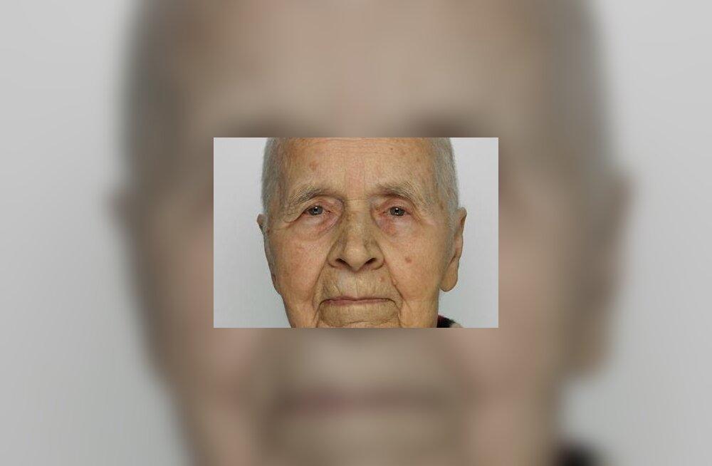 Politsei palub abi täna hommikul raviasutusest lahkunud 88-aastase Vanda asukoha kindlakstegemisel