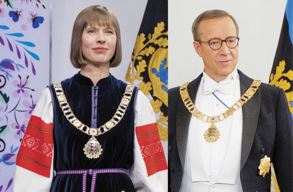 Aasta presidendina! Värskes Kroonikas ilmus suur Kersti Kaljulaidi ja Toomas Hendrik Ilvese võrdlus