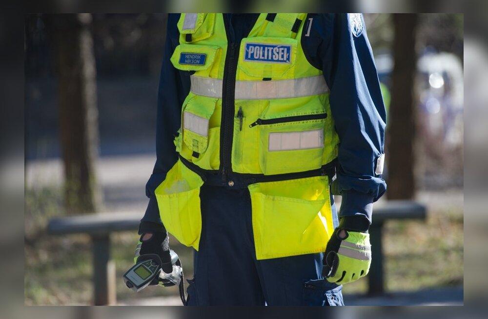 Politsei puhumisreid Pärnamäe teel