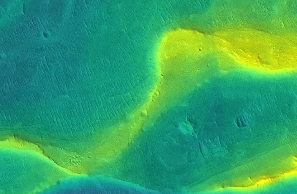 Marsil voolasid miljardeid aastaid tohutud hooajalised jõed