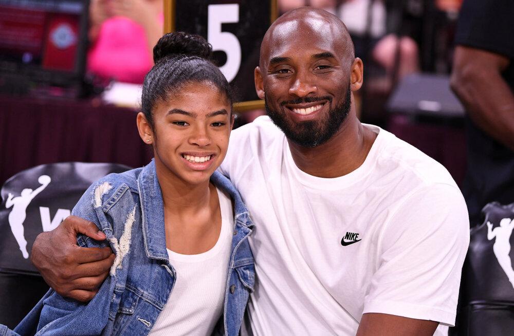 Kobe Bryanti tütar valiti postuumselt naiste NBA-sse