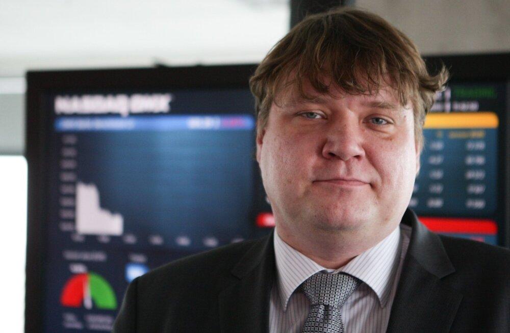 Tallinna Börsi uut juht Rauno Klettenberg