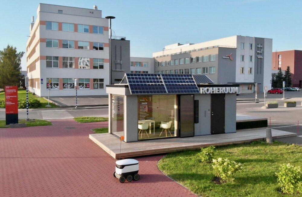Tehnopoli teadus- ja ärilinnakus avati Eesti esimene nutipood