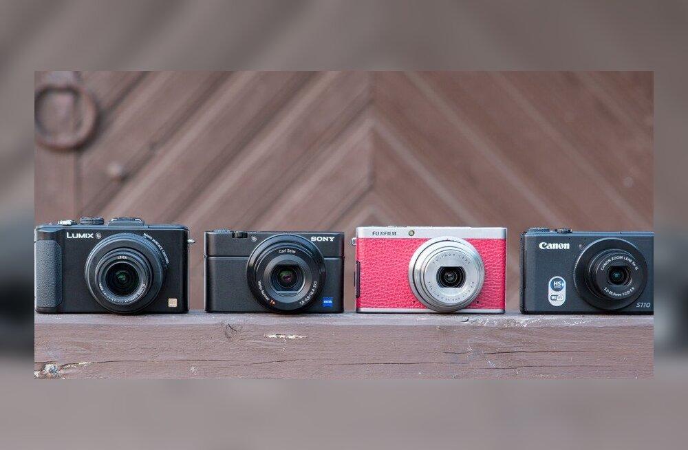 50e25889763 SUUR TEST: Neli tippklassi kompaktkaamerat - Forte