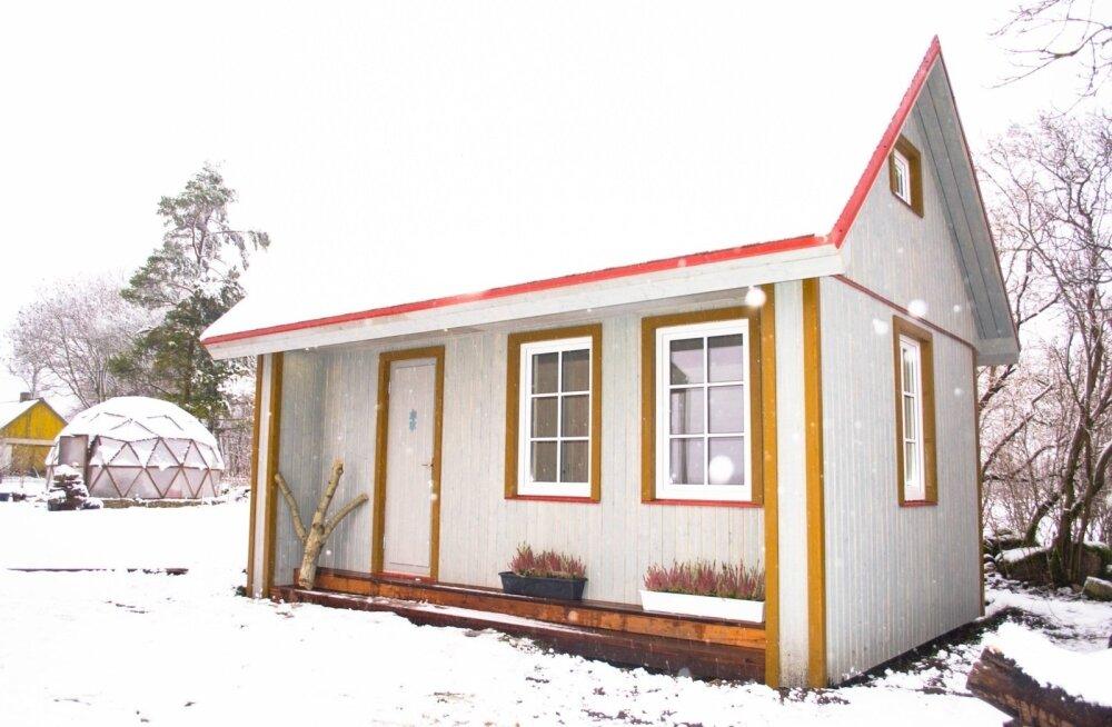 ФОТО: Лихулаский завод разработал дом, который не требует разрешения на строительство