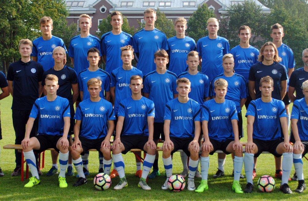 Eesti U17 jalgpallikoondis