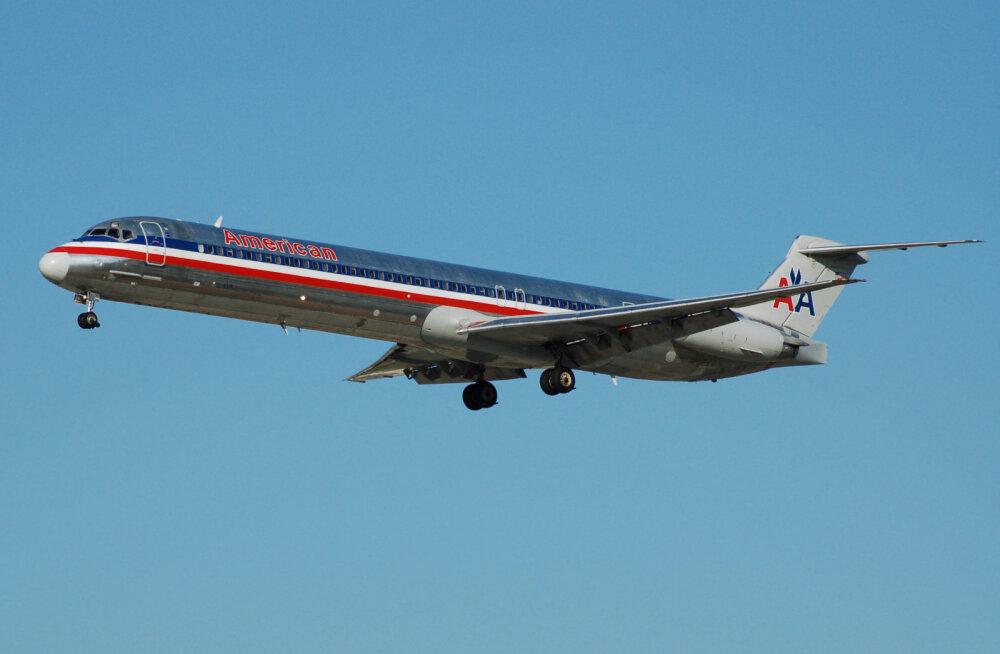 American Airlinesi reisilennuk õhus