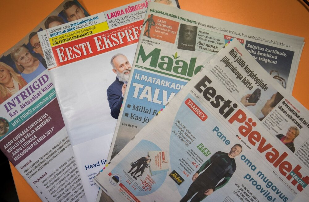 Ekspress Meedia ajalehed.
