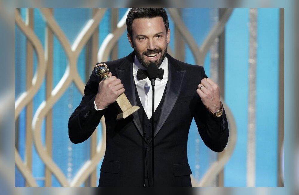 "Kuldgloobusel valiti parimaks filmiks ""Argo"""