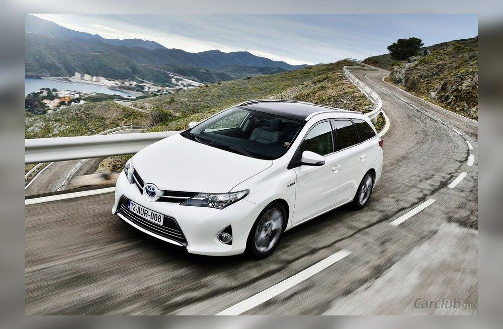 ФОТО: Toyota официально представила универсал Auris Touring Sports