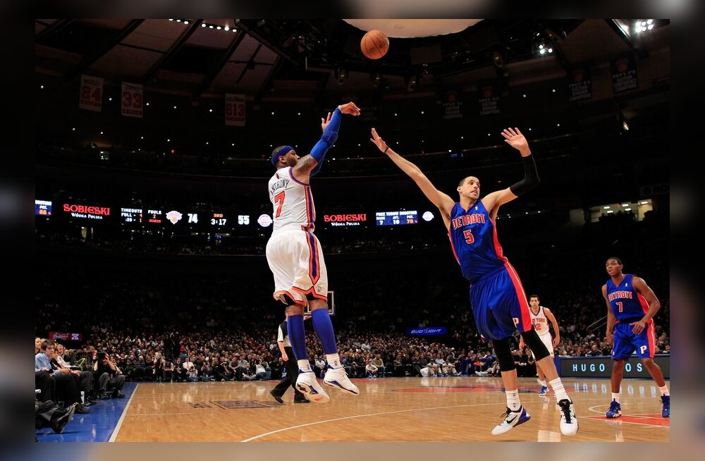 Carmelo Anthony viskeüritusel, NBA, korvpall