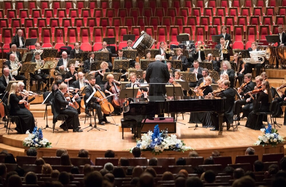 ERSO kontsert Kahhidze muusikakeskuse kontserdisaalis Tbilisis