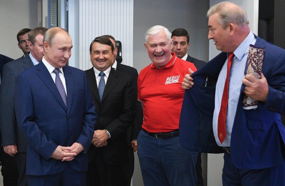 Vladimir Putin ja Vladislav Tretjak