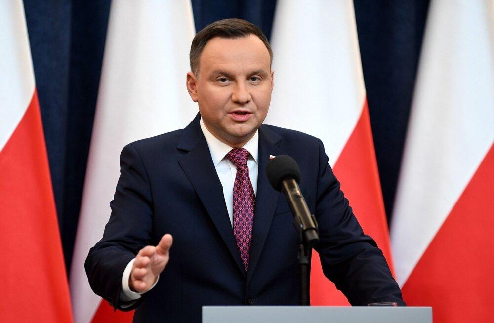 Poola president allkirjastas EL-i karmi reageeringu esile kutsunud kohtusüsteemi muudatused