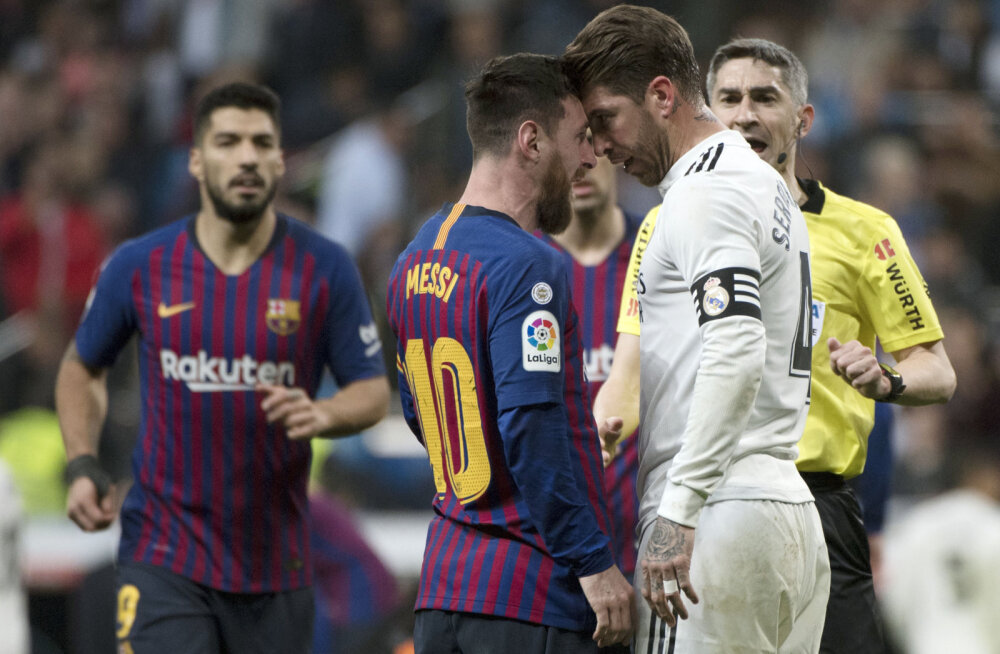 Lionel Messi ja Sergio Ramos
