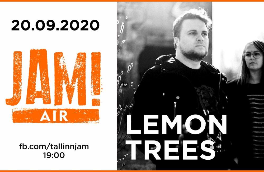 В это воскресенье - онлайн-шоу JAM AIR! с группой Lemon Trees