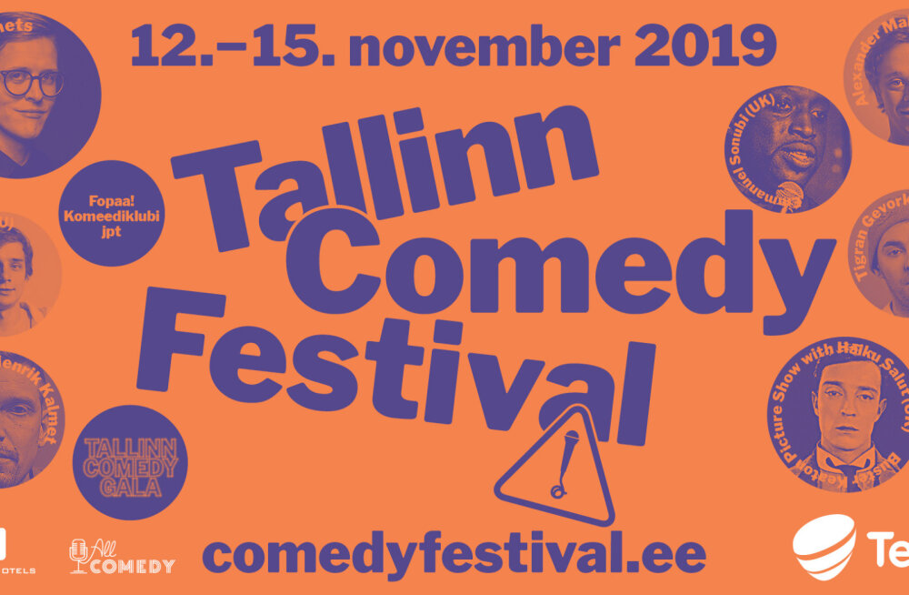 С 12 по 15 ноября в Таллинне пройдет фестиваль комедии Tallinn Comedy Festival
