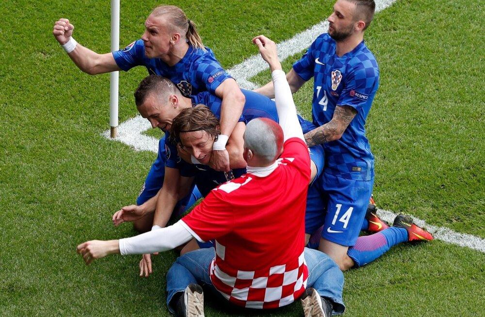 Horvaatia - Türgi jalgpall