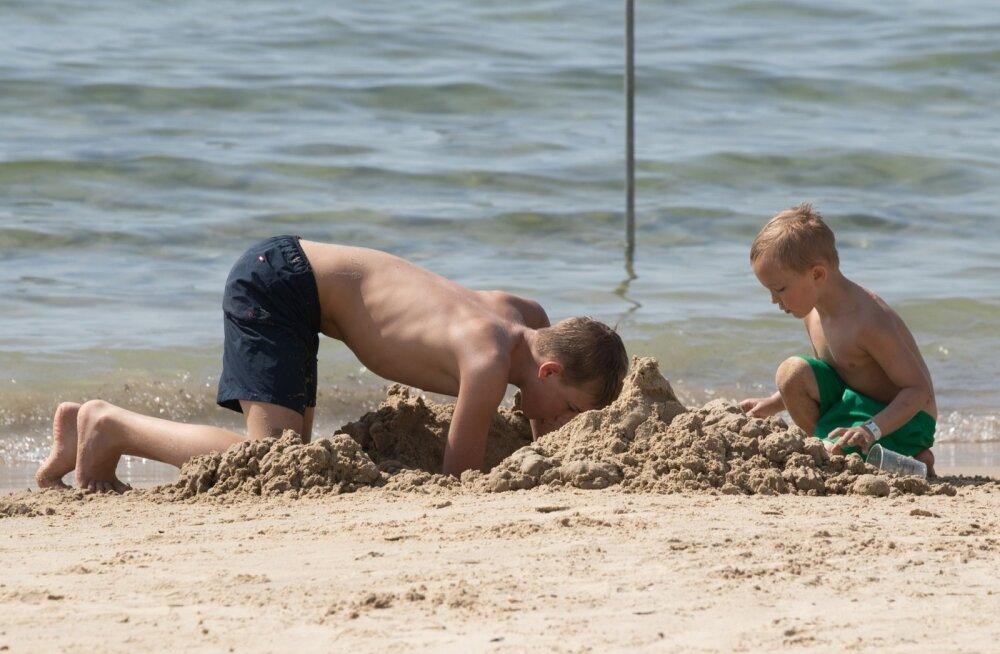 Aktiivne puhkus rannas