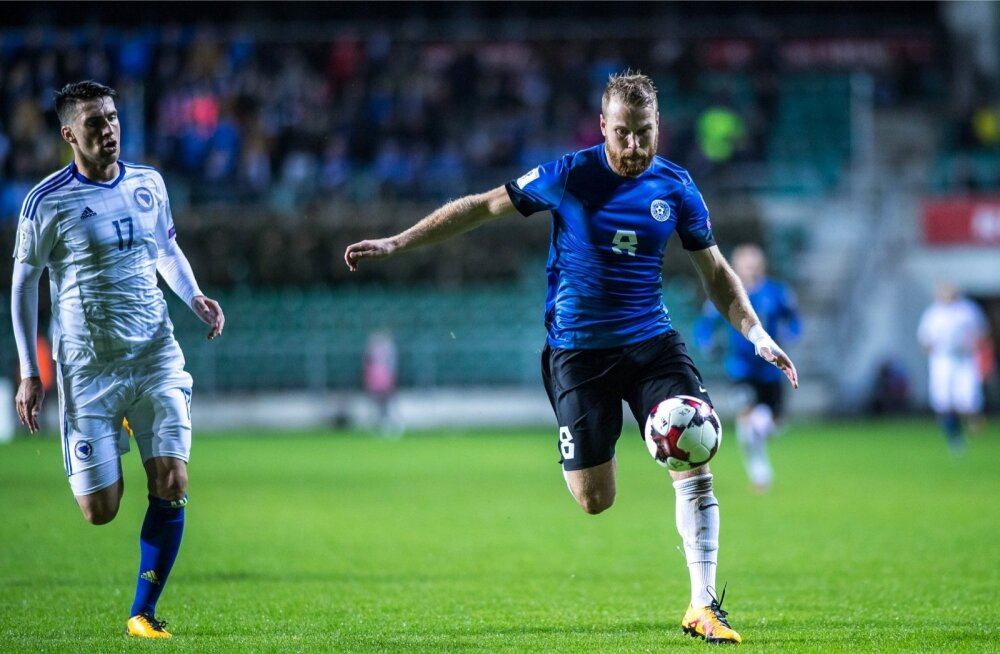 Eesti vs Bosnia ja Hertsogoviina, 10.10.2017