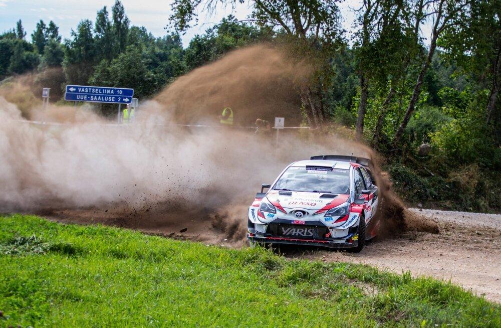 Lõuna Eesti ralli 2020 testikatse