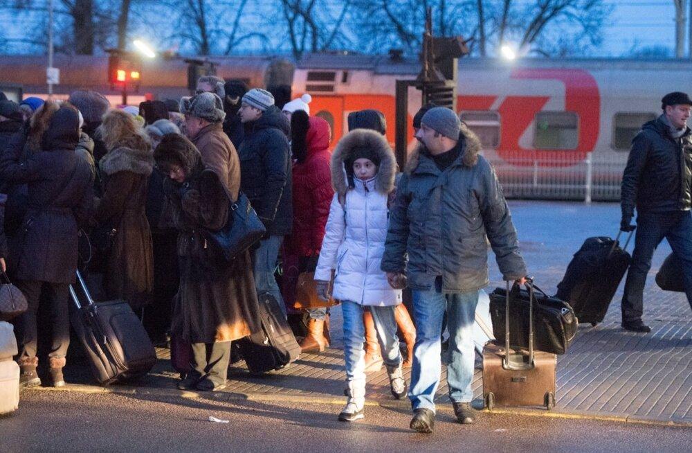 В ноябре количество туристов в Эстонии сократилось на 3%