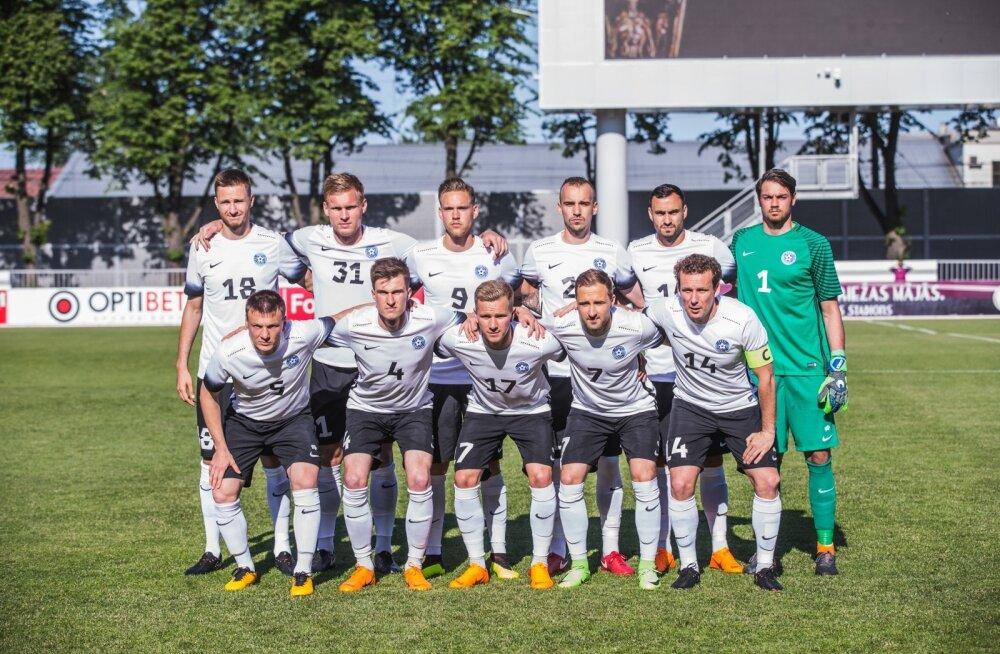 Eesti-Läti jalgpallimäng 02.06.18