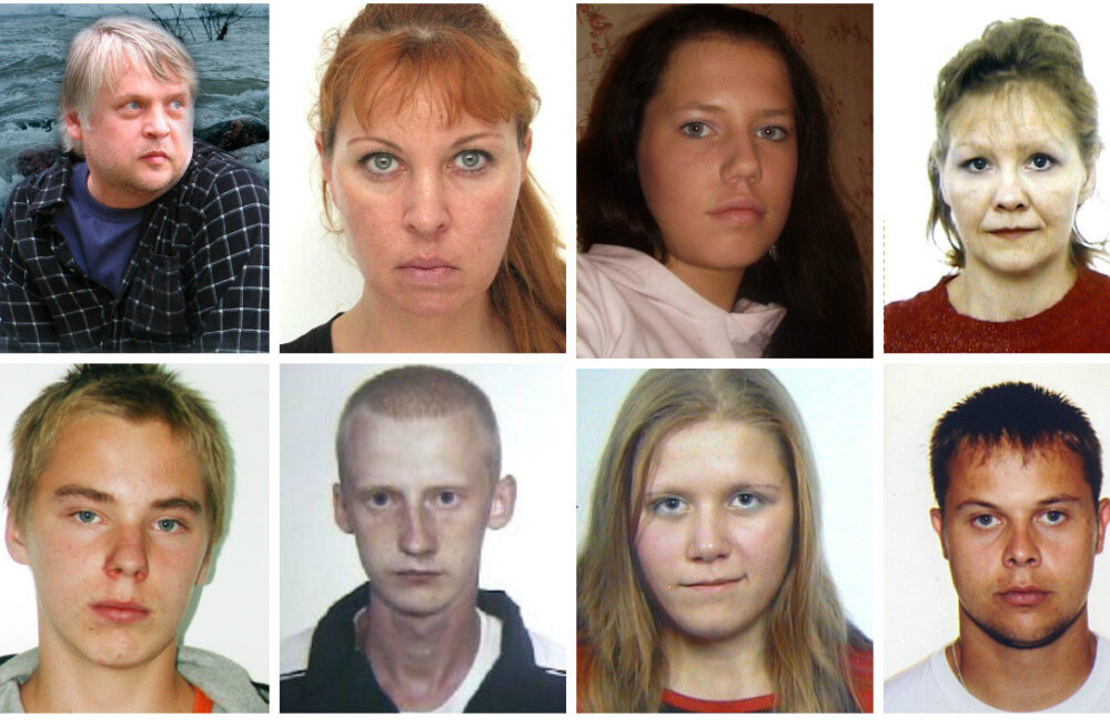 KADUNUD INIMESED: Eesti politsei otsib 43 pikka aega kadunud inimest